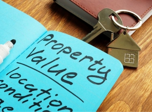 Property value list and key from home.